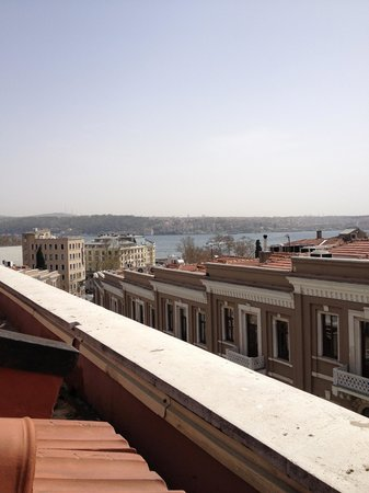 W Istanbul: View from our terrace