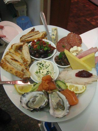 Beauty Point, Australien: platter for 2