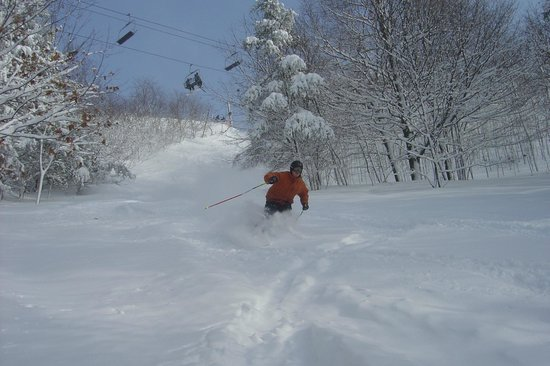 "Cadillac, MI: Caberfae Peaks averages over 140"" of natural snow each season"
