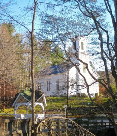 Waren, VT: Warren Church &amp; Gazebo