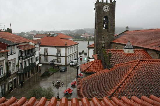 Mercearia da Vila: View from the attic room