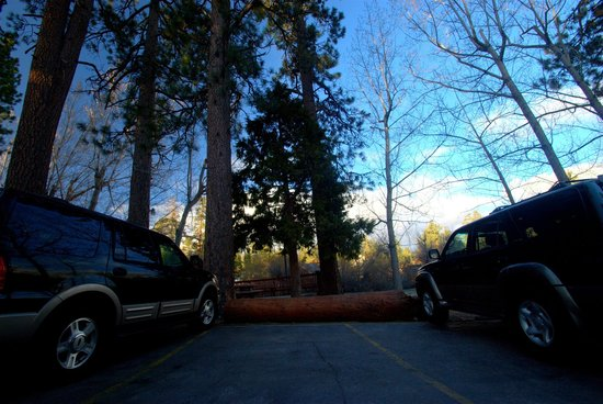 Timberline Lodge: Main Parking
