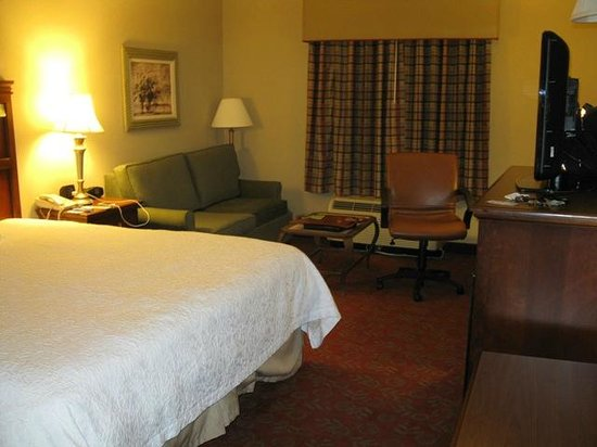 Hampton Inn & Suites Montgomery-East Chase: Great room for a restful sleep...
