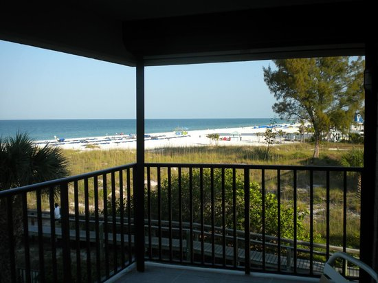 ‪‪Gulf Beach Resort‬: Balcony‬