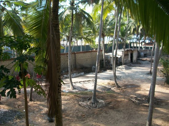 Palmleaves Beach Resort: the builders yard