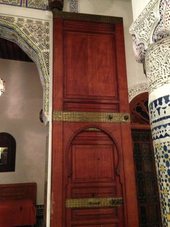 Dar Drissi: Doors on the main salon
