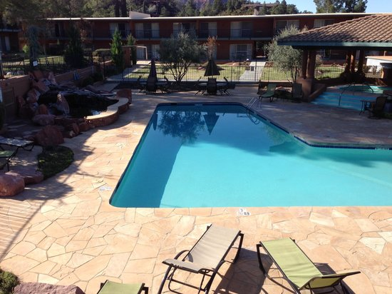 Kings Ransom Sedona Hotel: pool area