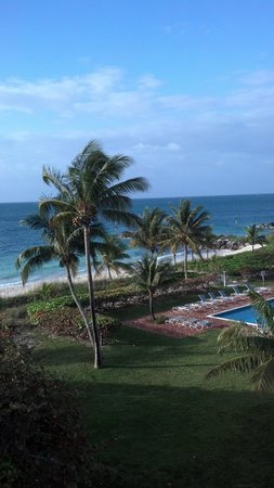 Taino Beach Resort & Clubs: from our balcony
