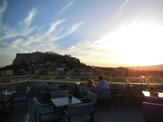 Central Hotel Athens : Rooftop Bar