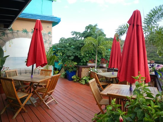 Patio of St. John Inn
