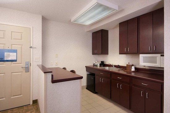 West Seneca, État de New York : Suite Kitchen Area