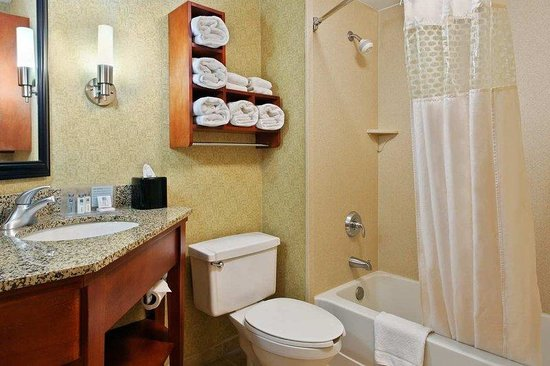 Hampton Inn St. Louis/Westport: Guest Bath, Tub