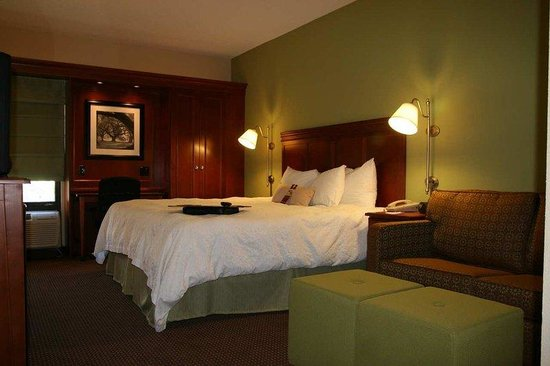 Hampton Inn St. Louis/Westport: King Study
