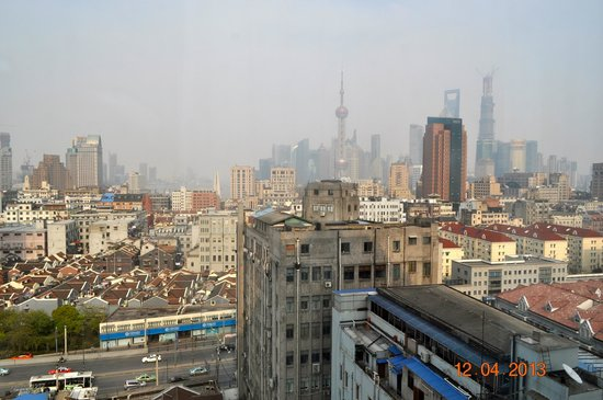 The Bund Riverside Hotel: View from window