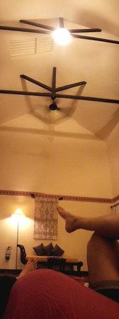 Nirwana Gardens - Mayang Sari Beach Resort: A High Ceiling