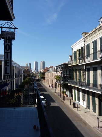 Le Richelieu in the French Quarter: du balcon