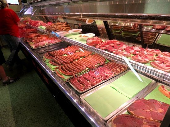 Scott, LA: Meat counter