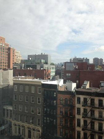 Sheraton Tribeca New York Hotel: the view