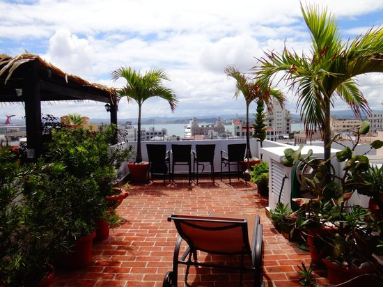 La Terraza Hotel: Roof top terrace