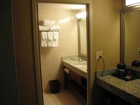 DoubleTree by Hilton & Miami Airport Convention Center: Bathroom &  outside vanity