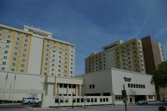 Sheraton Fort Worth Hotel and Spa: The hotel
