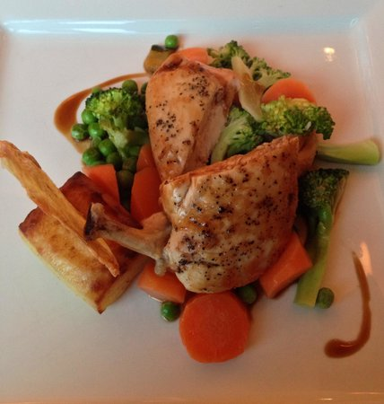 Carnoustie Golf Course Hotel: Main course