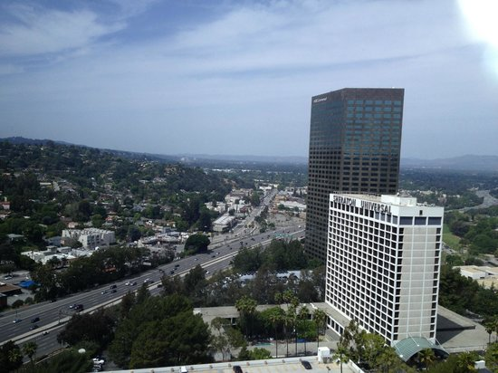 Hilton Los Angeles / Universal City: View from our room