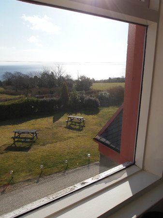 Whiting Bay, UK: Day time view seaview room