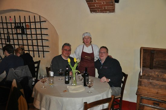 Vagliagli, Italia: osteria la botte