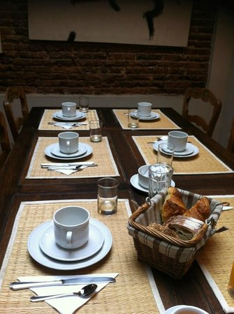 Posada Gotan : breakfast room