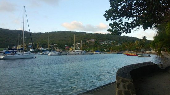 Belmont, Bequia: View from the front of the hotel
