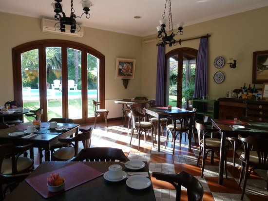 Hotel La Candela: Lovely breakfast room