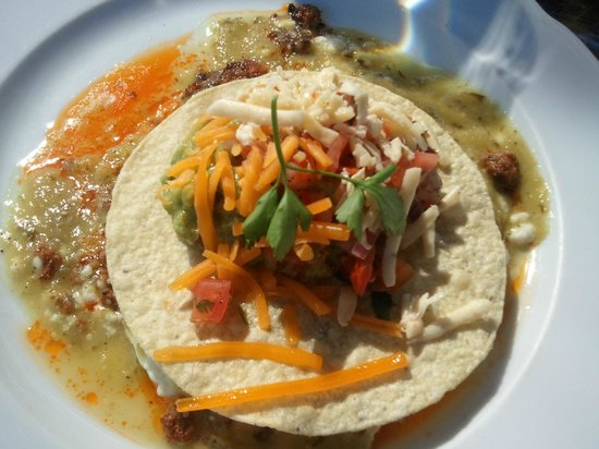Ojai Valley Inn and Spa: best huevos rancheros - oak grill
