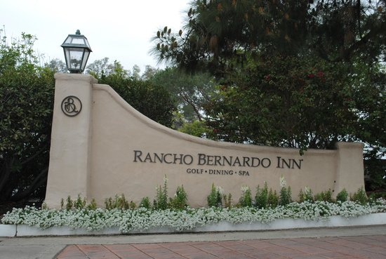 Rancho Bernardo Inn Resort Entrance