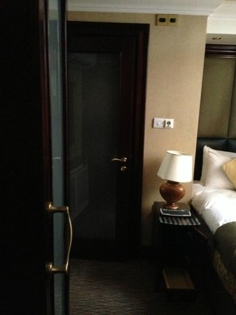 Shaftesbury Premier Hotel London Paddington: closed door is bathroom