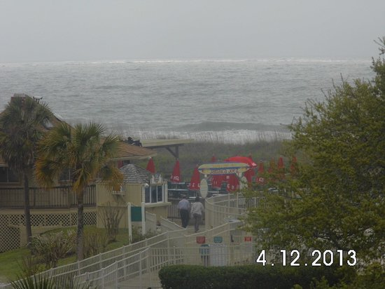 Hilton Head Island Beach & Tennis Resort: my balcony view