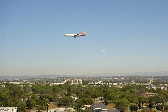 The Westin Los Angeles Airport: view from room #715