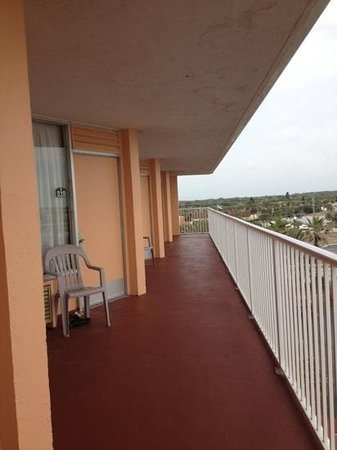 Coral Sands Inn & Seaside Cottages Ormond Beach: seems like they all have a pretty good view all face the water