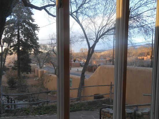 Inn of the Turquoise Bear B&B: Looking northeast out from the Millay Room--sunset