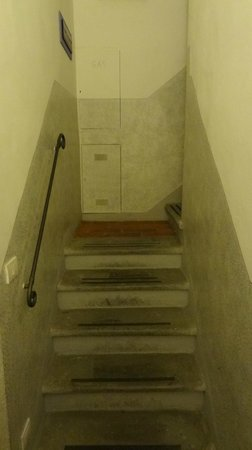 Hotel Montreal: Stairs to 2nd and 3rd floors