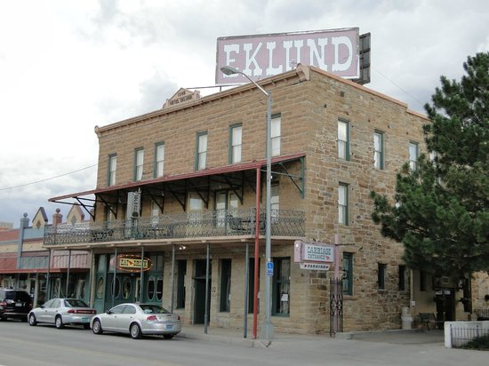 Clayton, New Mexiko: Worth a visit - The Eklund hotel
