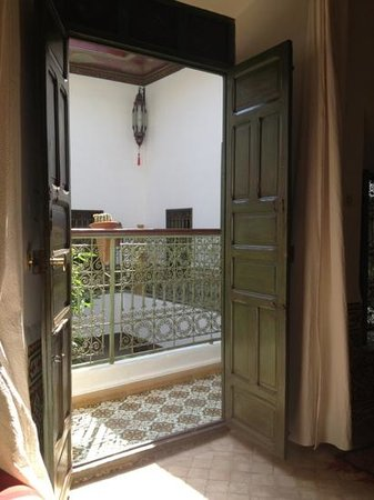 Riad Al Karama: vista dalla stanza Paprika
