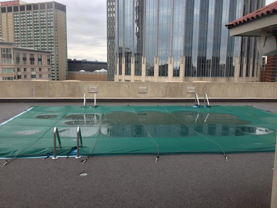 Colonnade Hotel: The pool they really have versus the glam shots on the website