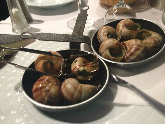 Beaulieu, Francia: The escargot. Divine!