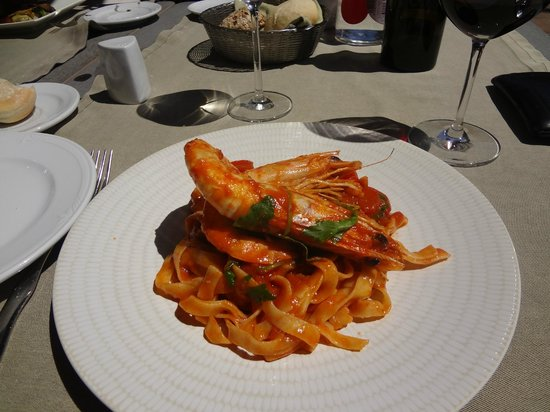Elviria, Spanien: The pasta was perfect and the seafood excellent. I ate it all