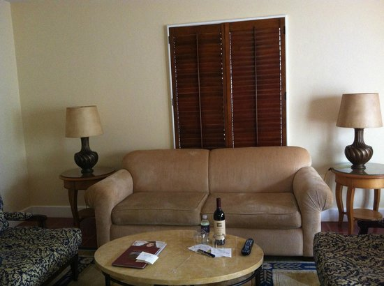 Bacara Resort & Spa: The living room just felt sad.