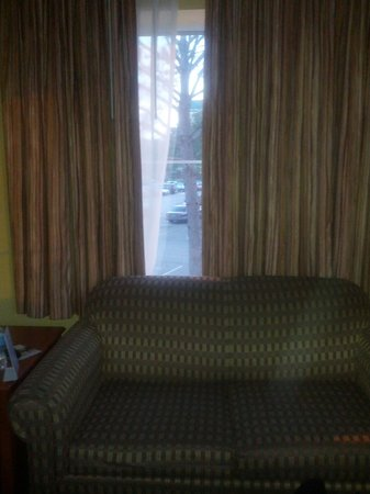 Holiday Inn Express Gainesville/I-75 SW: 3 Huge Windows in the Room this is the 3rd