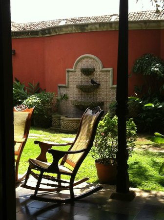 Hotel Casa Robleto: view from room