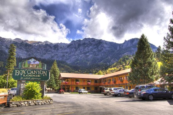 Box Canyon Lodge & Hot Springs: Box Canyon Lodge and Hot Springs Ouray