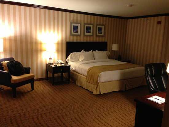 Doubletree Hotel San Diego Downtown: The Actual Bedroom